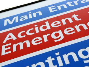 Patients are facing long waits in A&E departments