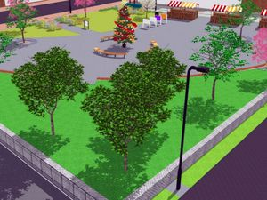 An artist impression of the proposed civic square for Brownhills High Street. Photo: Metis Consultants