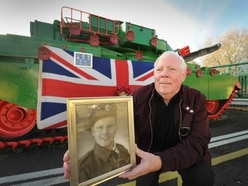 GALLERY: Trenches, trees and tank mark Armistice