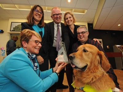 Bank becomes first winner of sight award