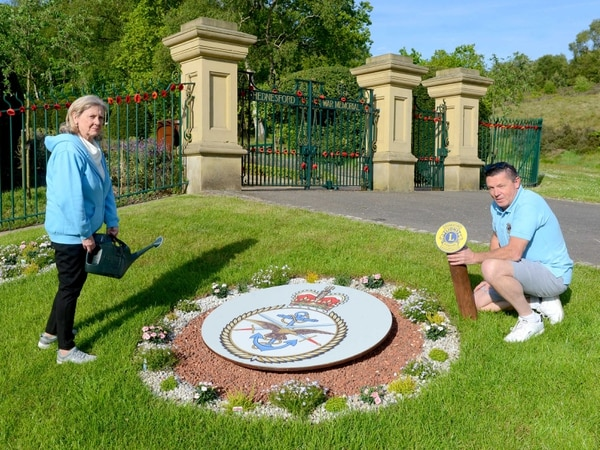 'Eyesore' ground outside Hednesford war memorial transformed