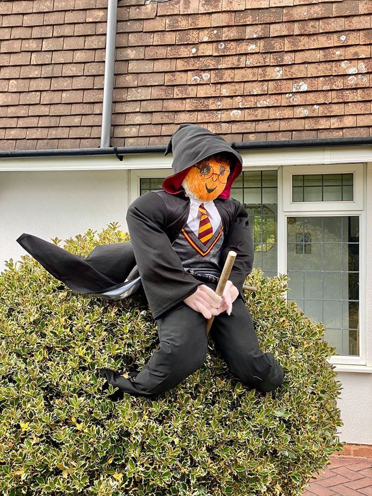 Residents of Codsall and Bilbrook have created more than 60 scarecrows as part of a competition for charity
