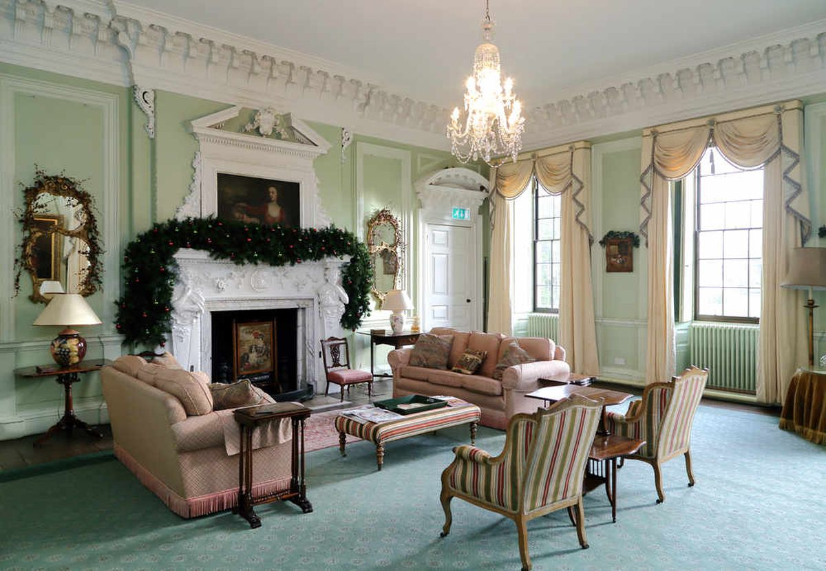 Six reception rooms will provide entertainment for friends