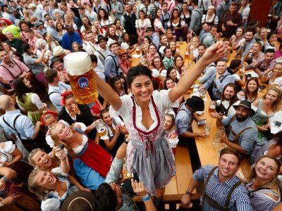 It's tapped – beer flows as Oktoberfest opens in Munich