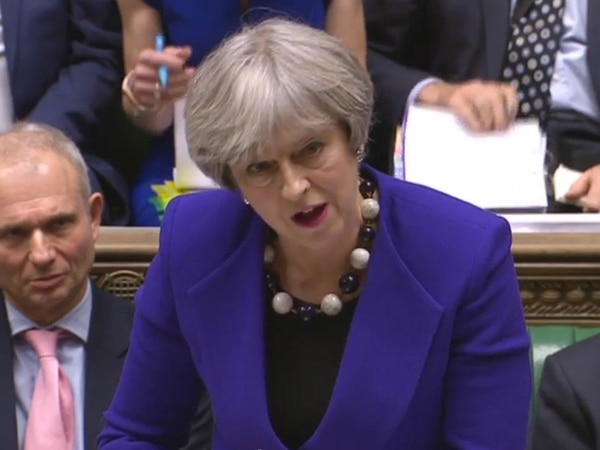 Eleanor apologises over Carillion silence as PM insists Government is 'just a customer'.