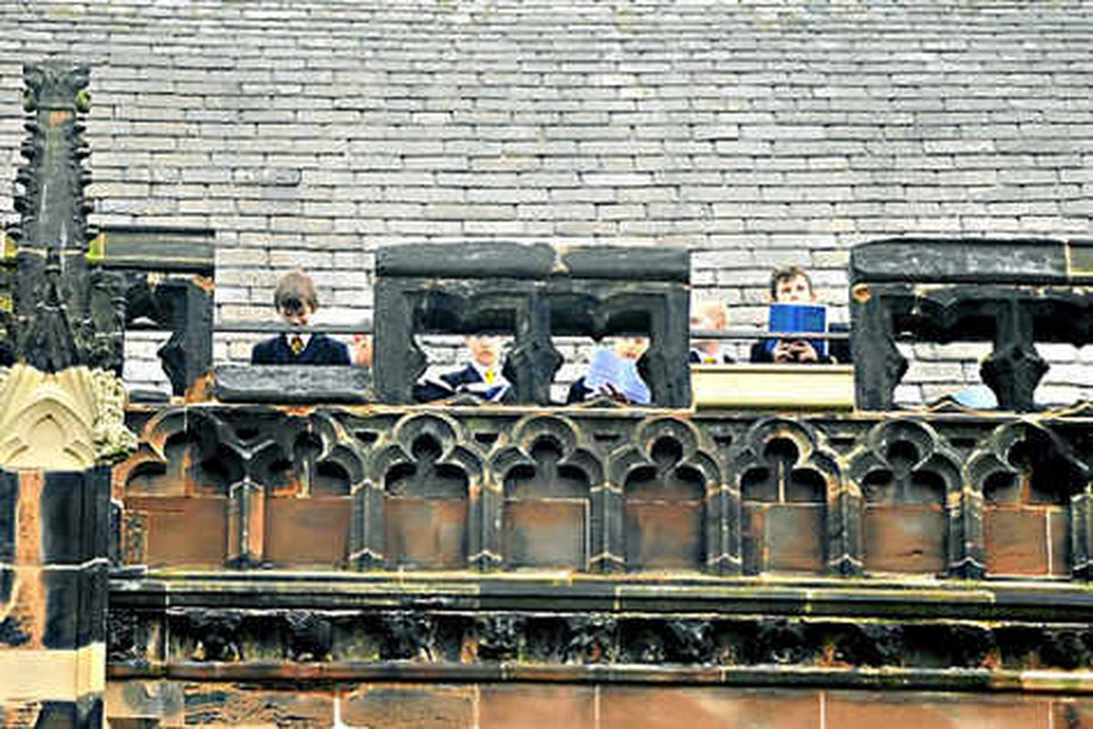 Choristers up early for Ascension Day