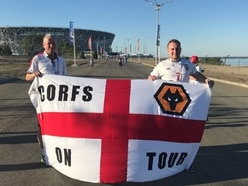 Wolves supporters whose flag was stolen in Russia get replacement