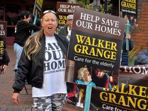 Diane Anderson Smith, whose father was a resident at Walker Grange, says plans to close it have outraged the community