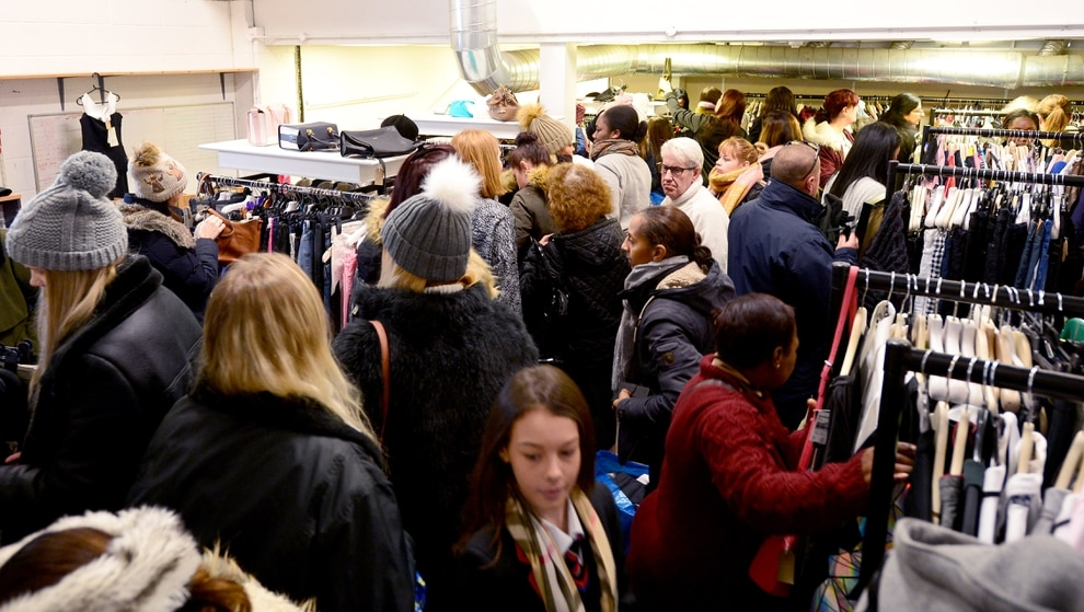 Black Friday Cannock S Newlife Store Is Swamped But High