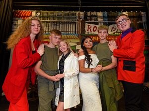 Students at Ellowes Hall Sports College are putting on a production of Miss Saigon later this month