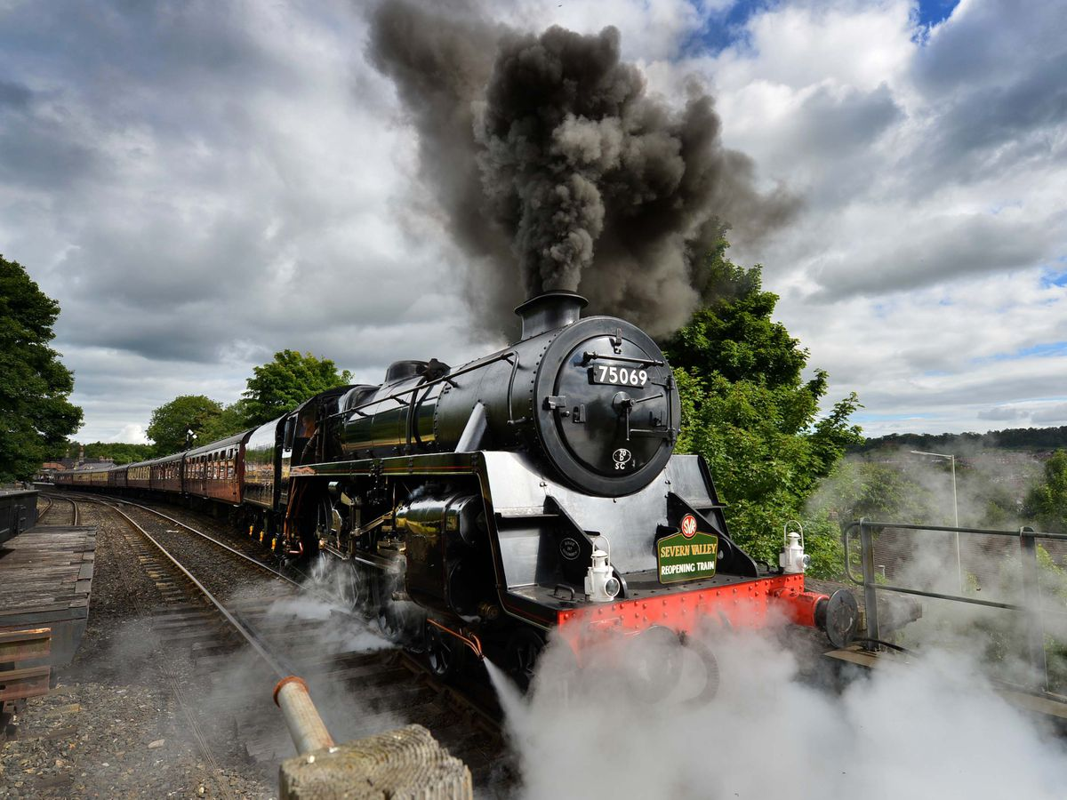 The Severn Valley Railway is now back open to the public