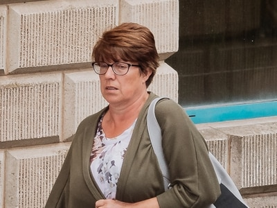 School secretary 'paid husband's firm £77k for work not done'