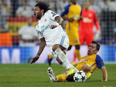 Real Madrid defender Marcelo faces month on sidelines