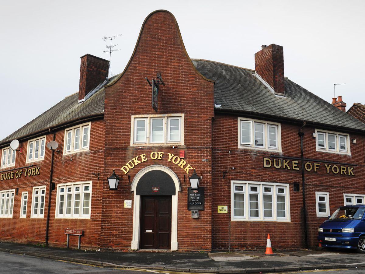 The Duke of York pub in Chuckery, Walsall