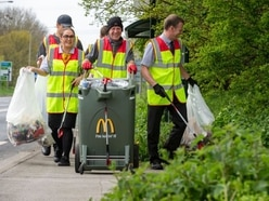 We're teaming up with McDonald's to tackle litter - let us know where you'd like us to clean up today