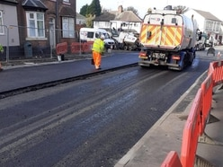 Tipton road to re-open after burst water main flood