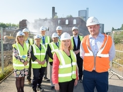 £100 million university work starts as bulldozers move onto Springfield Brewery site