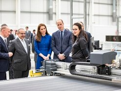 McLaren's £50m manufacturing plant gets royal opening