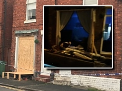 Man charged with drink driving after car smashes into Cannock home