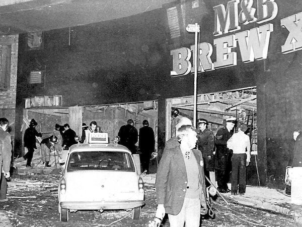 FILE PICTURE - Exterior of the Mulberry Bush, after the Birmingham pub bombings which happened 40 years ago tomorrow, November 21, 2014.  See NTI story NTIVILLA.  Premier League football team Aston Villa have enraged families of the Birmingham pub bombing victims – by refusing to commit to holding a minute's silence to mark the 40th anniversary of the atrocity.  Villa have confirmed there would NOT be a silence at Monday night's home game with Southampton.  Pub bombings campaigner Brian Hambleton, whose sister Maxine was among the 21 killed in the terrorist outrage, said Villa had let down the dead..