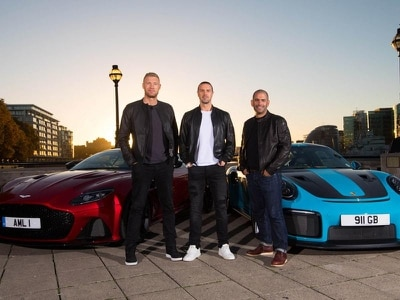 Revealed: Top Gear's new hosts narrowly avoided driving bans