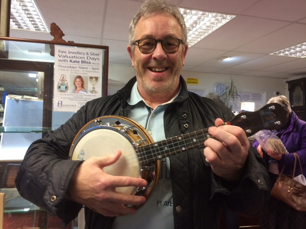 Two George Formby ukuleles sold for £23k