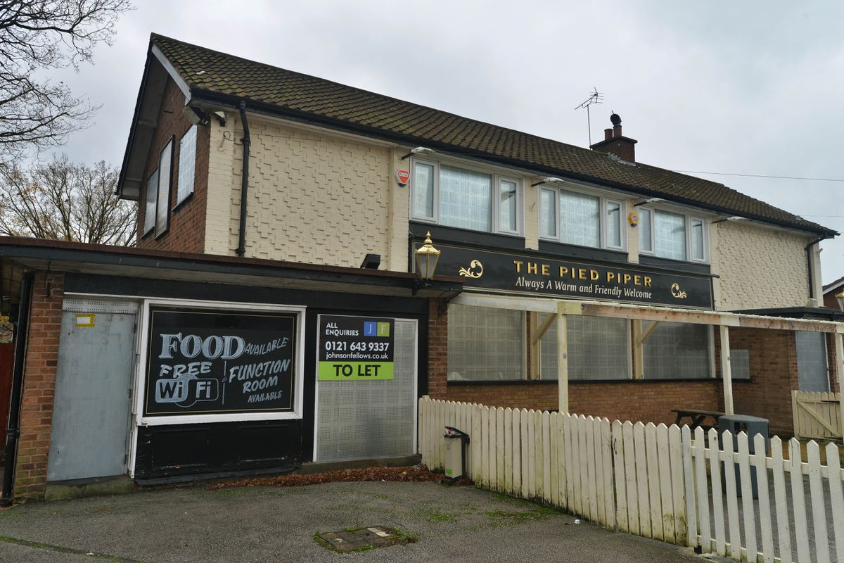 The Pied Piper in Pye Green Road