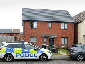 Police at Cranford Street, Smethwick