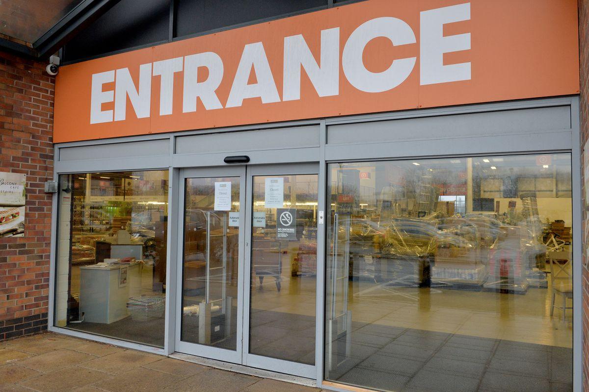 Closed JTF at Bescot Retail Park, Bescot Crescent, Walsall