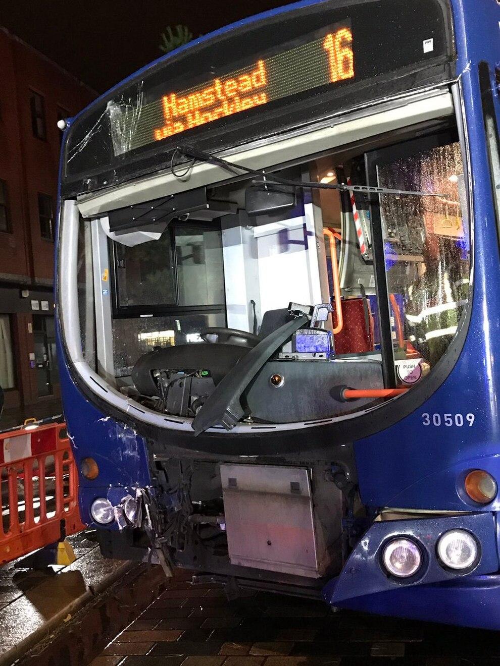Diamond Bus Crash In West Bromwich Express Amp Star