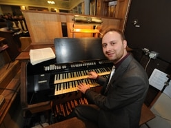 Restored organ rings out at Cradley church