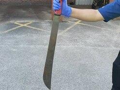 Machete found in garden of Wolverhampton home