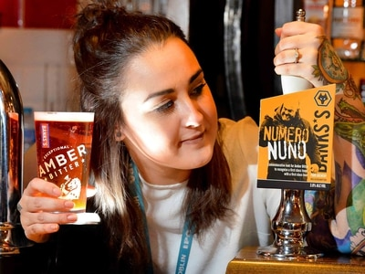 Beer we go! Wolves boss Nuno gets his own tipple