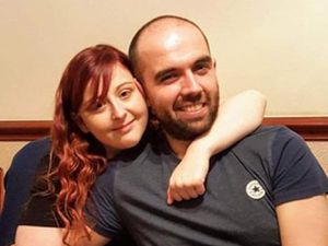 Melissa Thorneycroft, from Walsall, with partner Lewis Harper