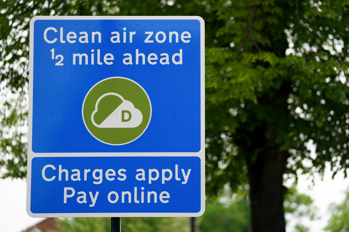 More than 300 Clean Air Zone warning signs have been put up around Birmingham