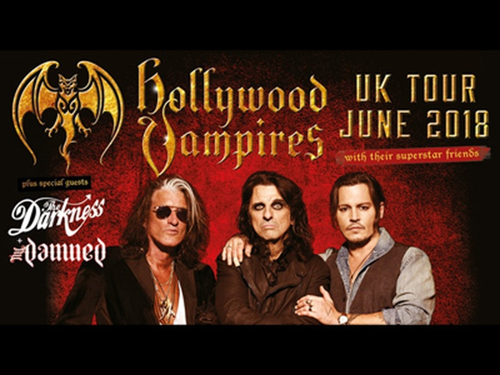 Hollywood Vampires announce United Kingdom tour dates