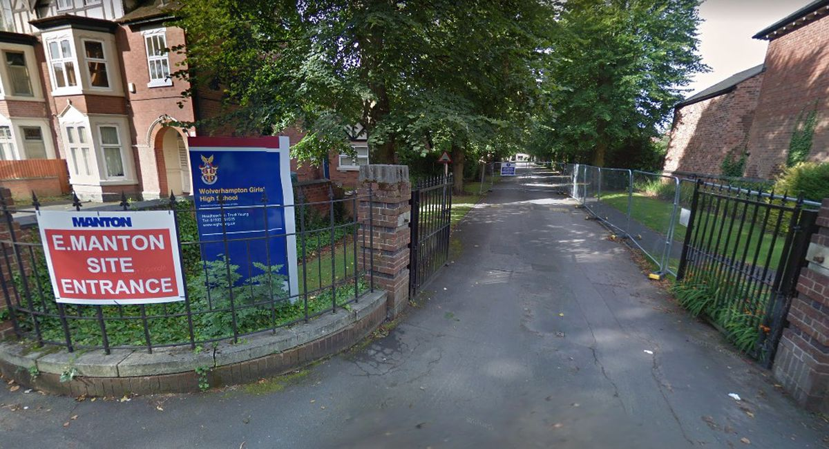 Wolverhampton Girls' High School's expansion plans were backed by councillors. Photo: Google
