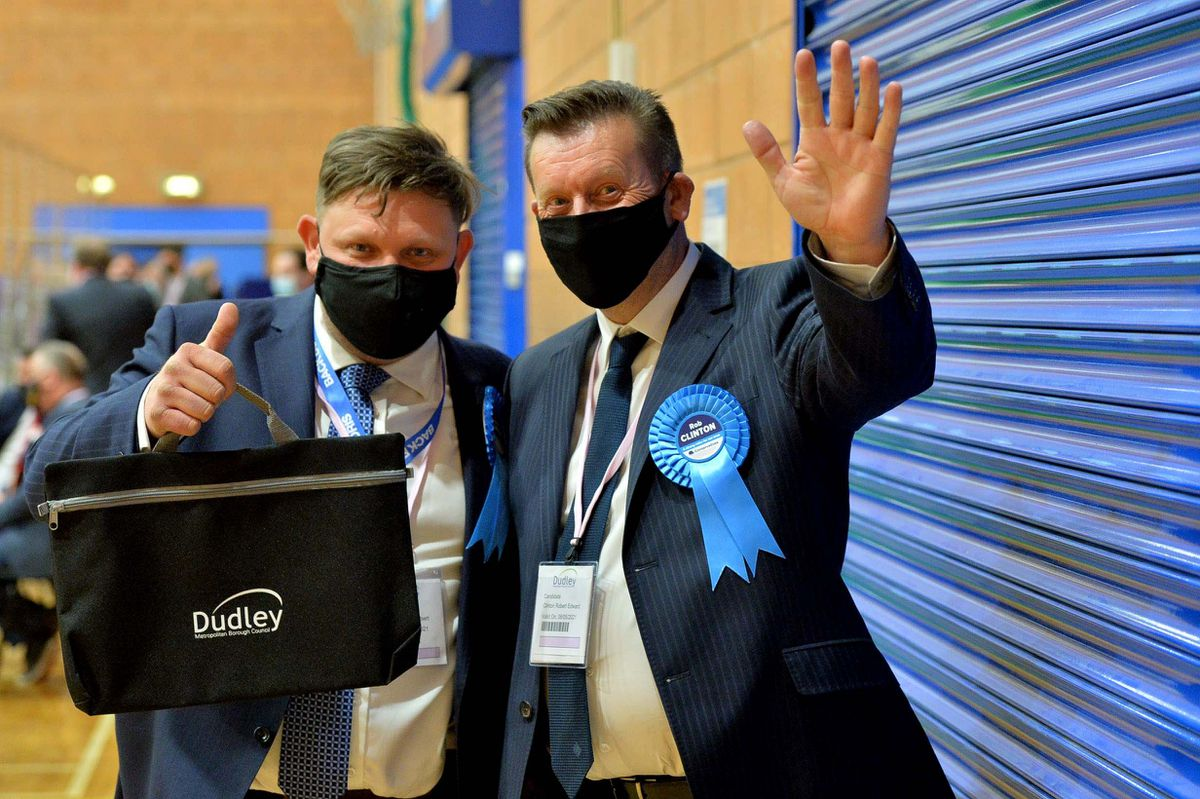 Father and Son James and Rob Clinton were both elected in Dudley