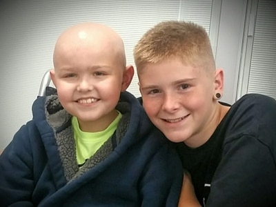 Family overwhelmed by support helping son in cancer battle