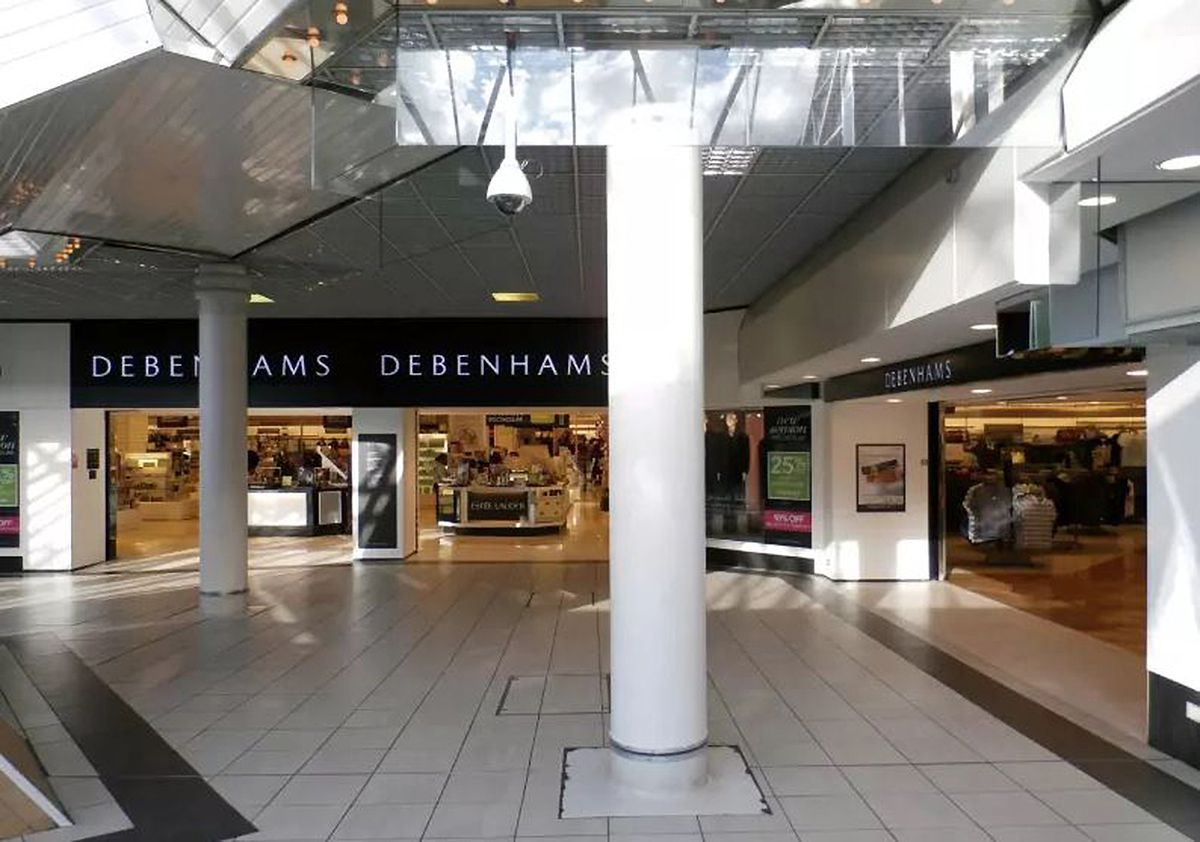 Debenhams is shutting its Walsall branch on May 2