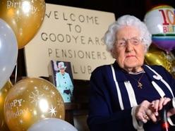 100-year-old Sallie celebrates with birthday gift to Birmingham Children's Hospital