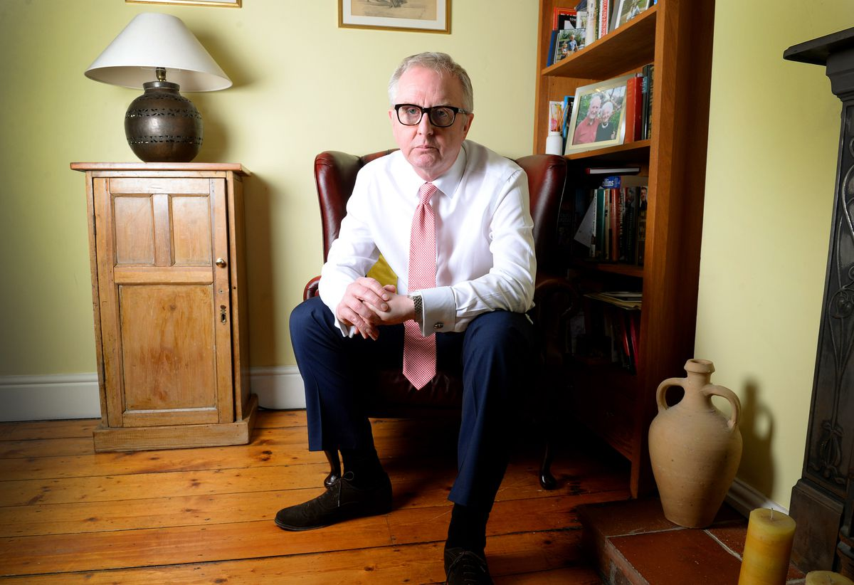 Ian Austin spoke to the Express & Star from his home about the decision