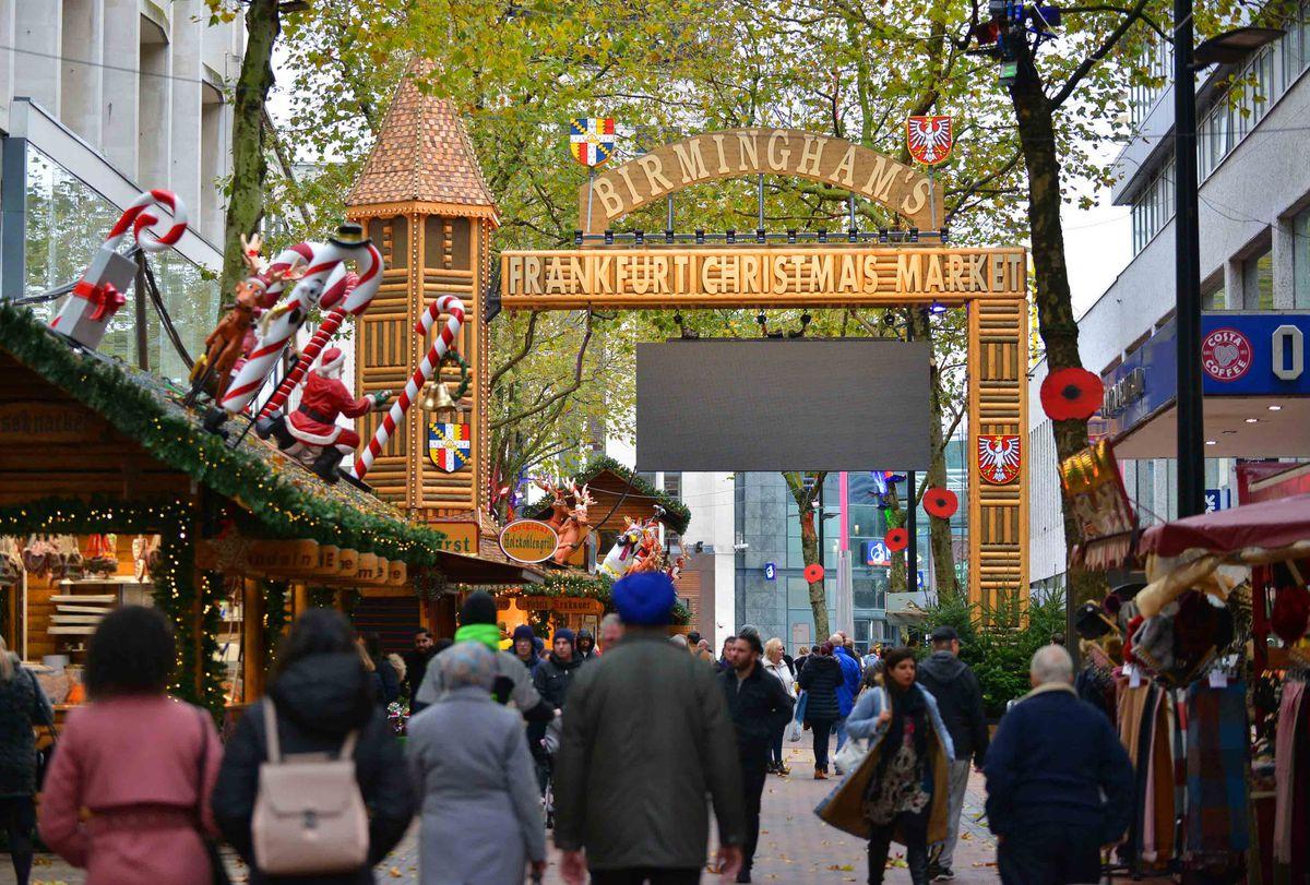 The Frankfurt Christmas Market