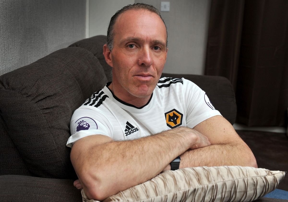 Wolves fan Lee Sammons wants to spread the message to get men tested