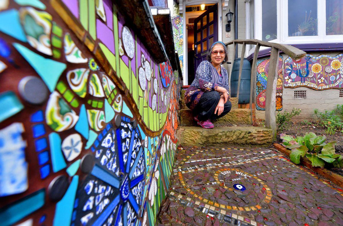 Caroline Jariwala at her home in Bearwood