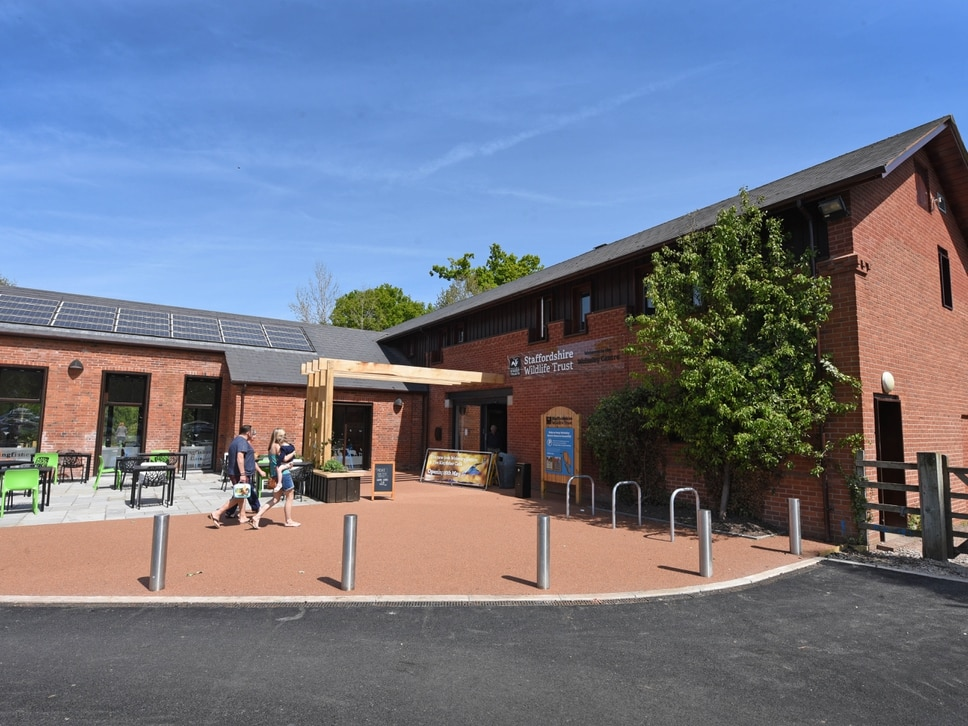 Grounds open to visitors at Staffordshire Wildlife Trust's Wolseley Centre