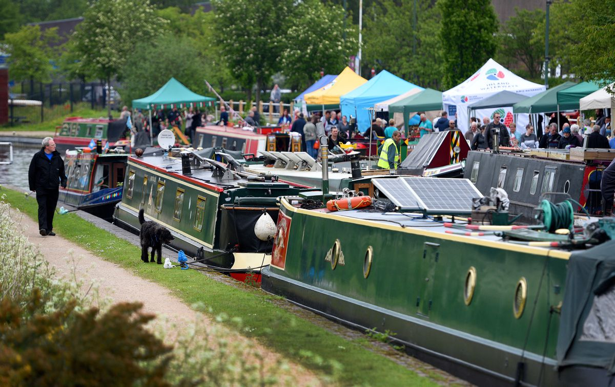 The popular event has been brought back to life by the Birmingham Canal Navigations Society