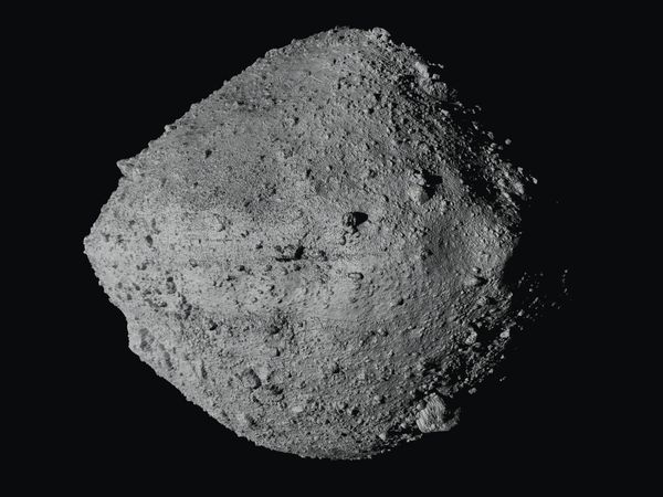 The asteroid Bennu from the Osiris-Rex spacecraft