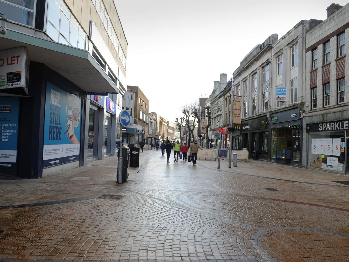 Wolverhampton is one of four Black Country areas to receive cash from the Towns Fund