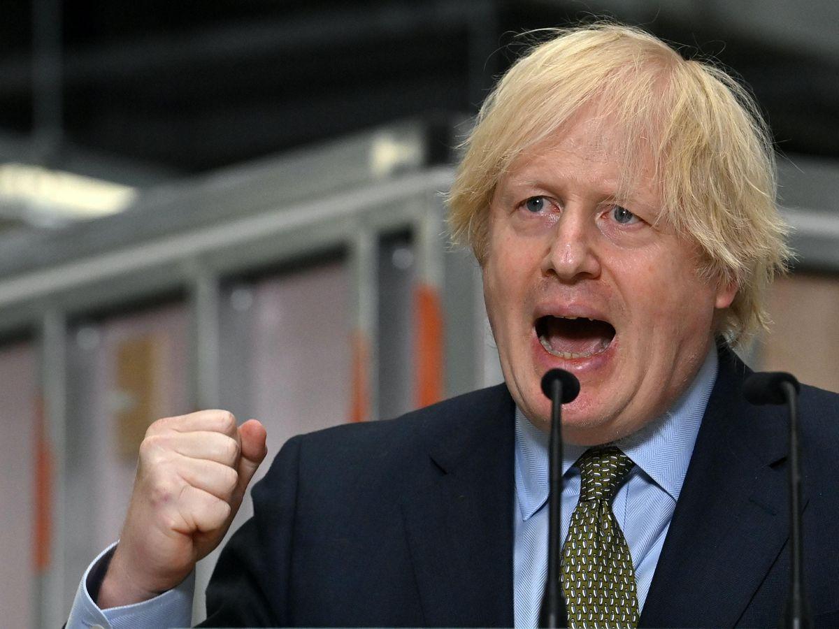 Boris Johnson visit to Dudley
